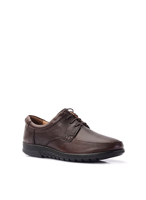 Beta %100 Deri Klasik Ayakkabı Kahve